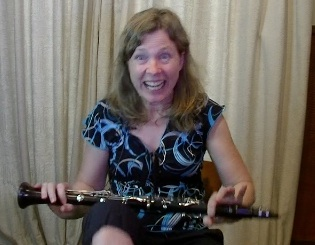 click here to see why Michelle is smashing her clarinet...