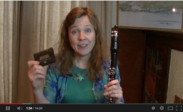 Link to You Tube Video about tuning a clarinet