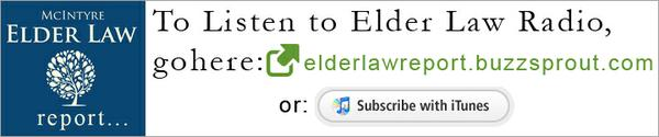 Listen to Elder Law Radio