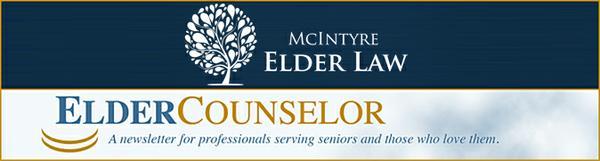Elder Counselor Newsletter Header
